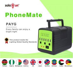 SolaRun PhoneMate
