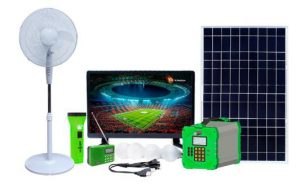Solarun MBOX-Supwer Solar Power Home System