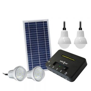 Solarun U box Solar Home Lighting System