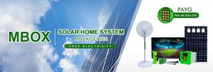 Mbox Solar Power Home System