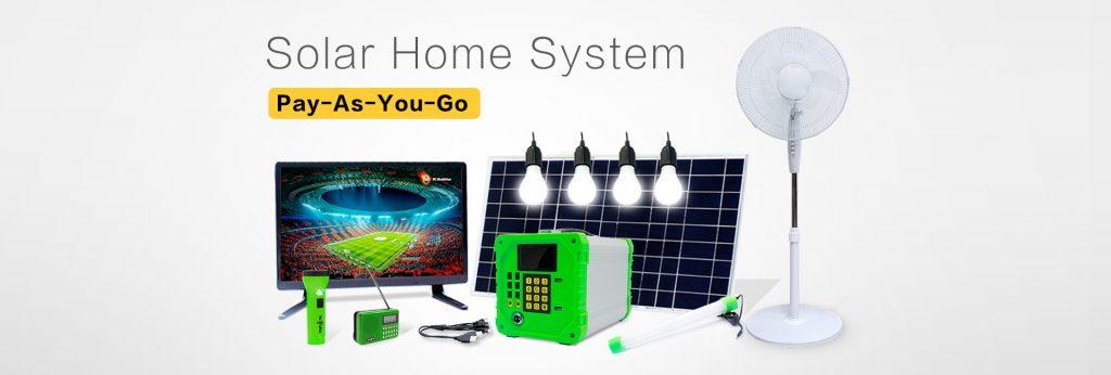 Solar Run Mbox Solar Home System