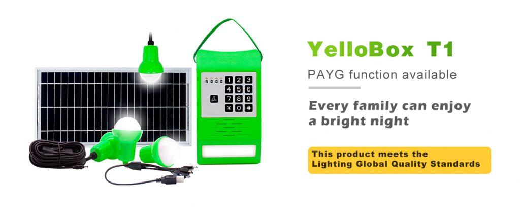 Solar Run YelloBox Solar Home System