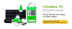 Solar Run YelloBox Solar Home System