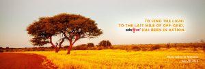 Solar Run in Namibia