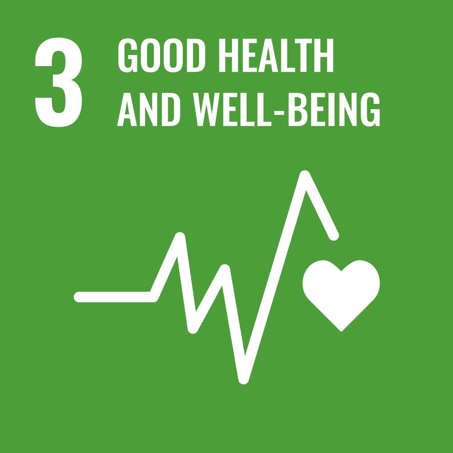 Ensuring healthy lives and promoting the well-being for all at all ages is essential to sustainable development.