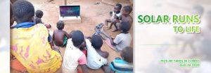 Solar Run in Congo