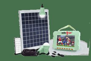 solar media home system