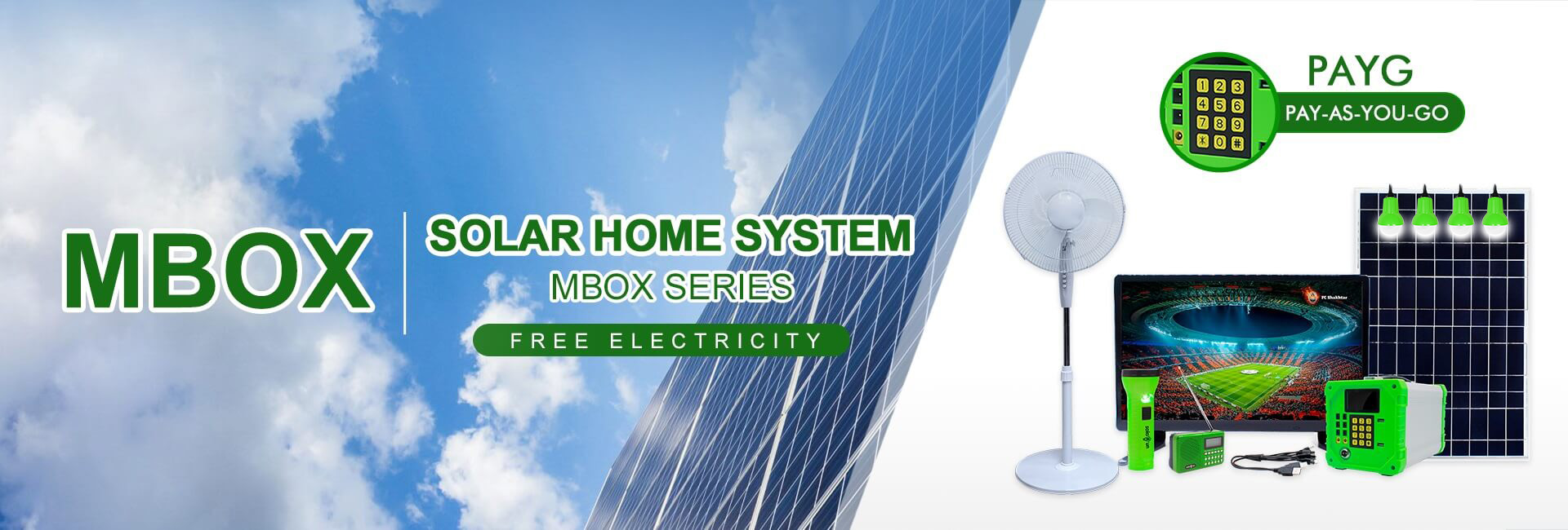 Mbox-Solar Energy System For Home